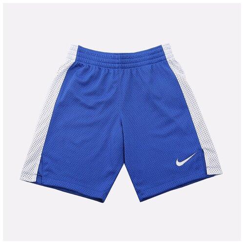 Фото - Шорты NIKE размер M(137-147), синий/белый nike толстовка для мальчиков nike sportswear размер 137 147
