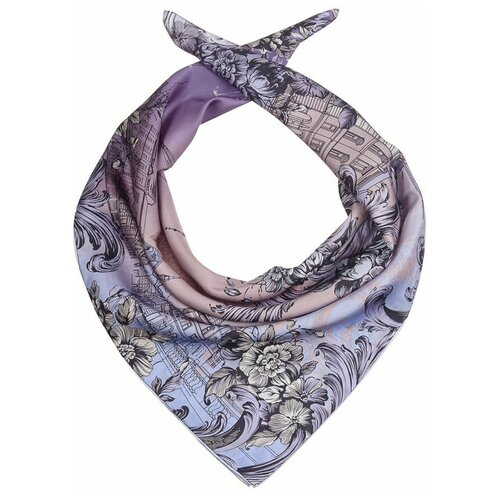 Платок Dr.Koffer S810701 100% шелк фиолетовый