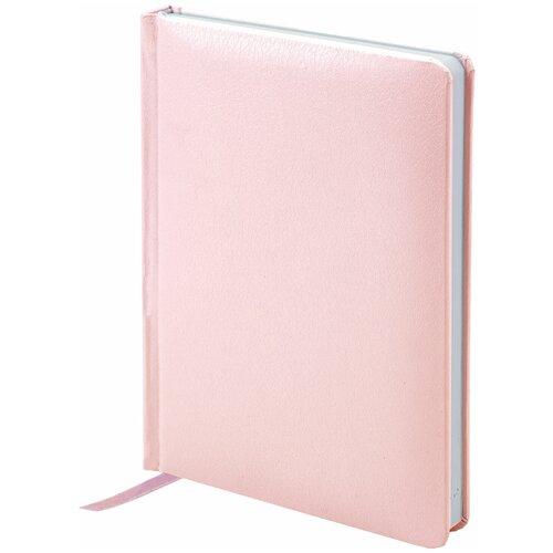 Купить Ежедневник BRAUBERG Profile недатированный, А6, 136 листов, розовый, Ежедневники