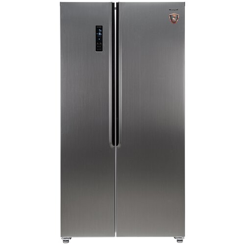 Холодильник Weissgauff WSBS 500 NFX Inverter