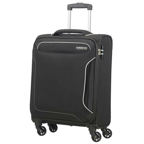 Чемодан American Tourister Holiday Heat Spinner 38 л, черный чемодан american tourister sunside черный m