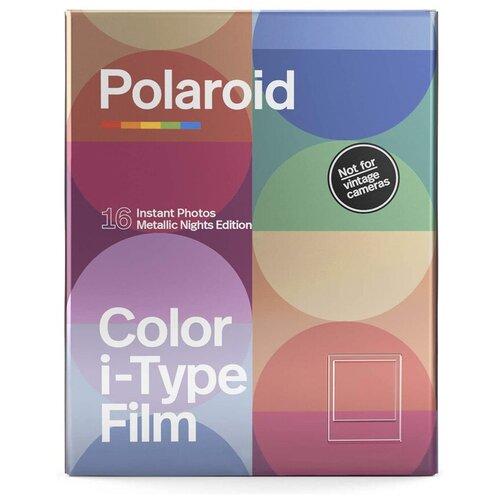 Фото - Картридж Polaroid Color Film Metallic Nights Double Pack картридж polaroid duochrome film 600 black