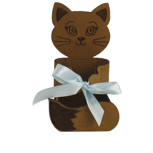 Подарочная упаковка КАНЫШЕВЫ ПУ471-00-3707М коричневый