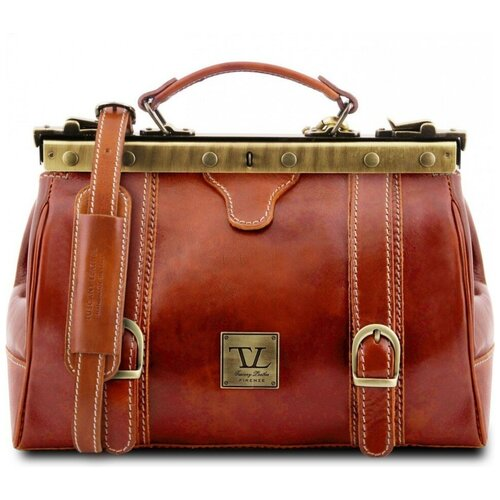 Кожаный саквояж Tuscany Leather Monalisa TL10034 Мед