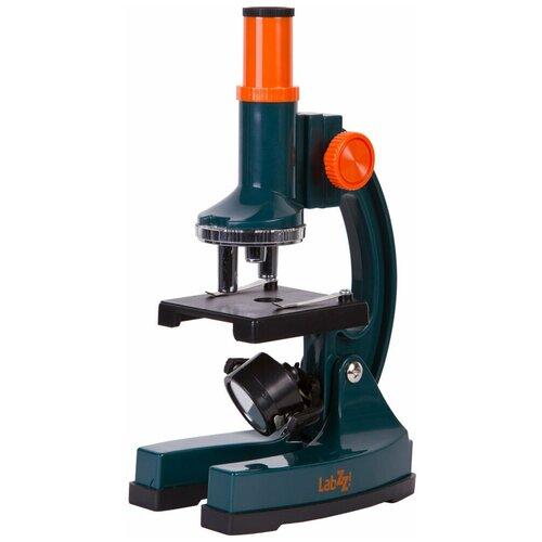 Фото - Микроскоп LEVENHUK LabZZ M2 синий/оранжевый/черный лупа levenhuk labzz c3 синий оранжевый