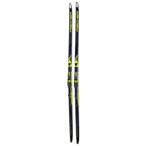 fischer carbonlite cl plus stiff ifp Беговые лыжи Fischer Carbonlite Skate Cold Stiff IFP без креплений черный/желтый 2018-2019 181 см