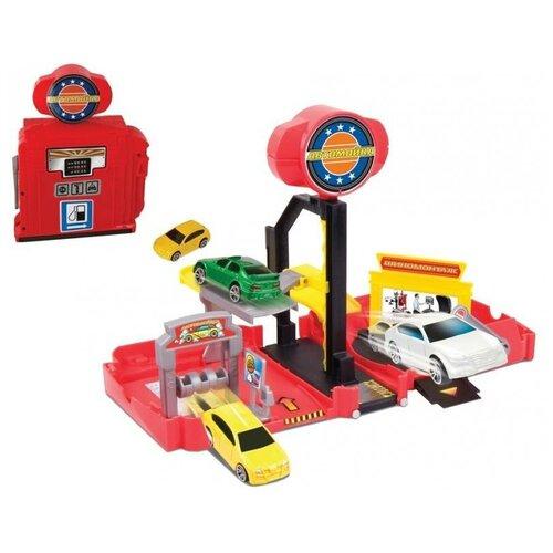 Пламенный мотор Автомойка, красный/желтый/черный/серый трактор пламенный мотор 870493 желтый
