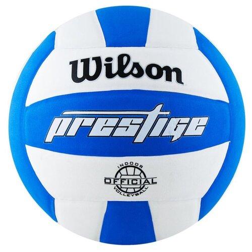 Волейбольный мяч Wilson Prestige белый/синий