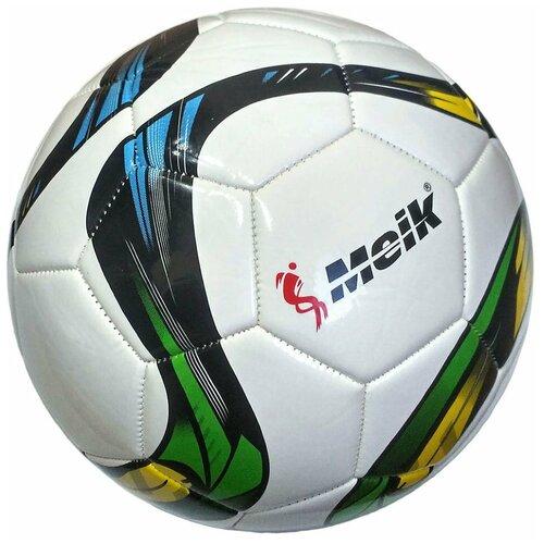 R18030 Мяч футбольный Meik-069 4-слоя TPU+PVC 3.0, 400 гр, машинная сшивка