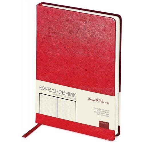 Купить Ежедневник недатированный Bruno Visconti красный, А5, 145*215 мм, 160 листов, Br. V. Megapolis, Ежедневники