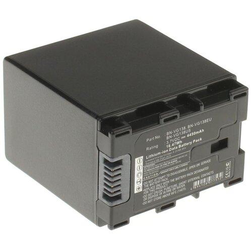 Аккумулятор iBatt iB-B1-F384 4450mAh для JVC BN-VG108E, BN-VG114E, BN-VG114, BN-VG138, BN-VG108, BN-VG121,