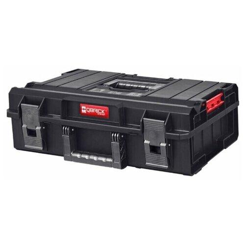 Фото - Профессиональный ящик-органайзер для инструментов QBRICK SYSTEM ONE 200 BASIC 59х39х19 ящик для инструментов qbrick system one 200 basic 585x385x190mm 10501231
