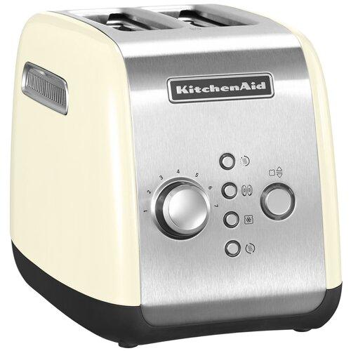 Фото - Тостер KitchenAid 5KMT221EAC, кремовый тостер kitchenaid 5kmt2204efp морозный жемчуг