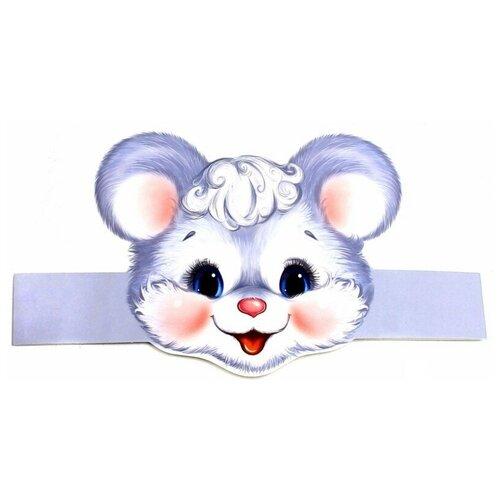 Купить Маска-ободок Мышка , Творческий Центр СФЕРА, Карнавальные костюмы