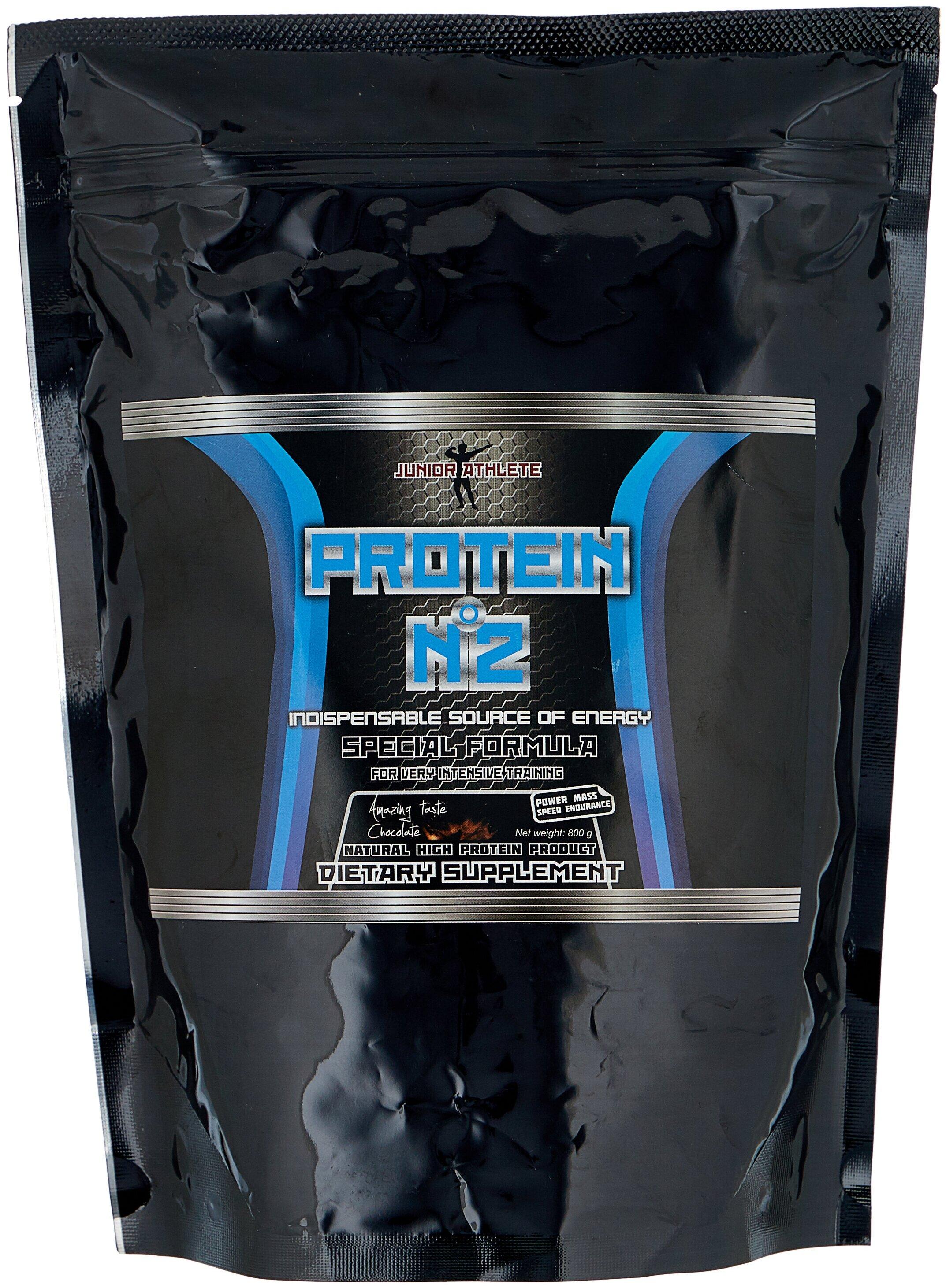 Протеин Junior Athlete Protein № 2 (800 г) — купить по выгодной цене на Яндекс.Маркете