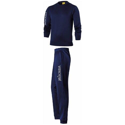 Спортивный костюм мужской MIKASA MT545 0036 MANILAS (MGSPORT) MT5450036-2 размер 48 цвет синий