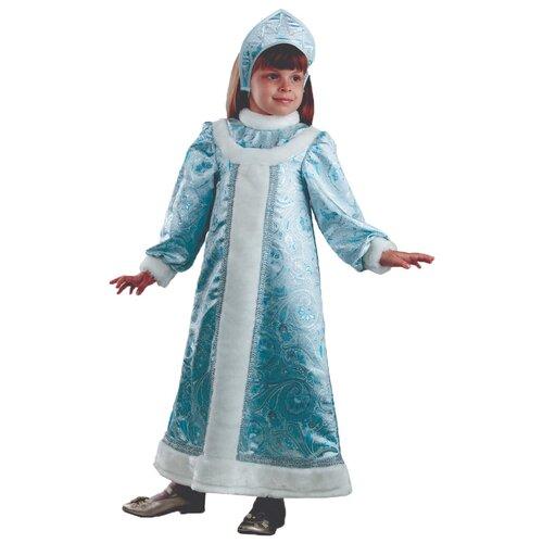 Купить Костюм Батик Снегурочка (429), голубой, размер 122, Карнавальные костюмы
