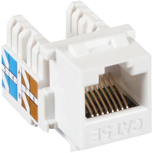 Модуль Keystone NETLAN EC-UKJ-UD2-WT-10 белый 10 шт.