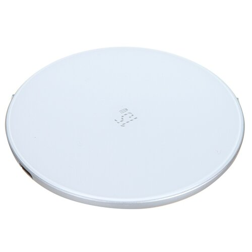 Фото - Зарядное устройство Baseus Simple Wireless Charger 15W Updated Version for Type-C White WXJK-B02 беспроводное зарядное устройство baseus cobble wireless charger 15w черный bs w501