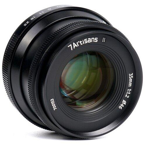 Фото - Объектив 7artisans 35mm F1.2 II Z-mount черный объектив 7artisans 35mm f0 95 canon eos m mount