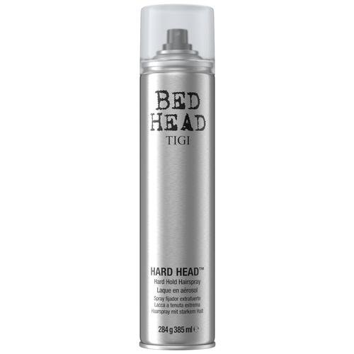 TIGI BED HEAD HARD HEAD - ЛАК для суперсильной фиксации , 385 МЛ tigi лак для блеска и фиксации masterpiece bed head 340 мл