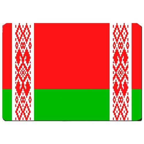 Игровой коврик для мыши флаг Белоруссии