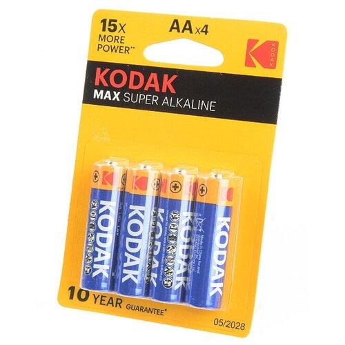 Kodak Батарейка Kodak Max LR6 BL4, 4шт