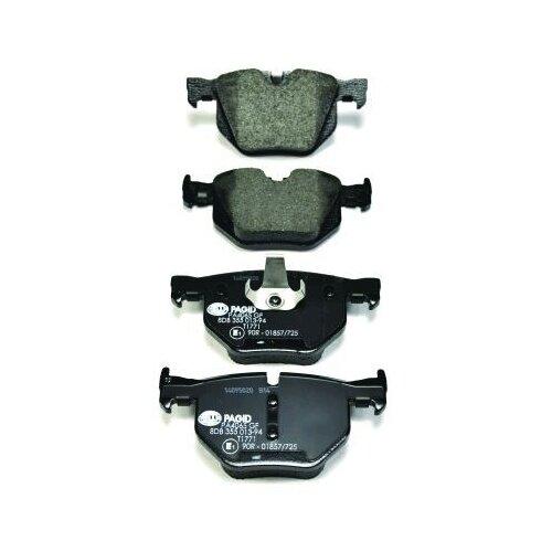 Дисковые тормозные колодки задние HELLA PAGID 8DB 355 013-941 для BMW X5, BMW X6 (4 шт.)