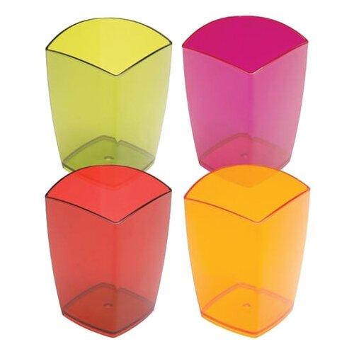 Купить Подставка-органайзер СТАММ стакан для ручек, Люкс Сочный Офис , 70*70*105 мм (СН706), Канцелярские наборы