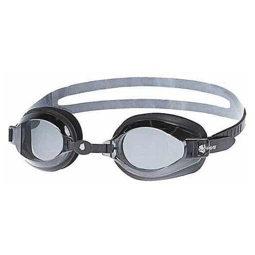 Mad Wave Очки для плавания Mad Wave Stalker Adult grey/black очки для плавания mad wave turbo racer ii black orange