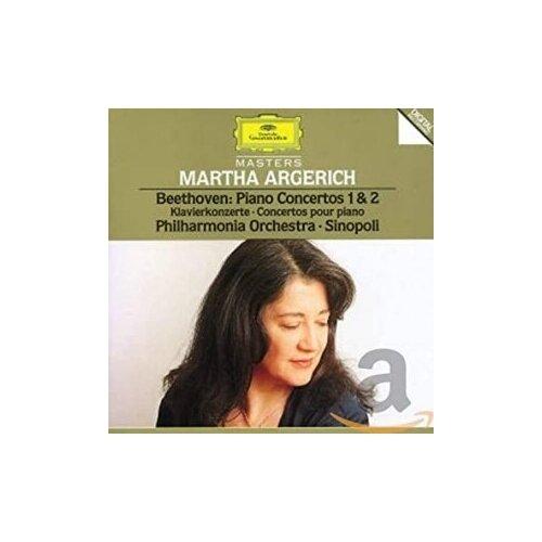 a ponchielli marcia no 29 op 175 Компакт-диски, Deutsche Grammophon, ARGERICH, MARTHA - Beethoven: Piano Concertos No.1 Op.15 & No.2 Op.19 (CD)