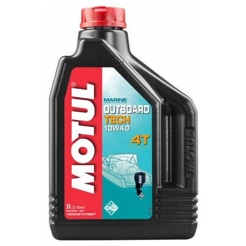 Масло моторное Motul Outboard Tech 4T 10w-40 ( 2 L)