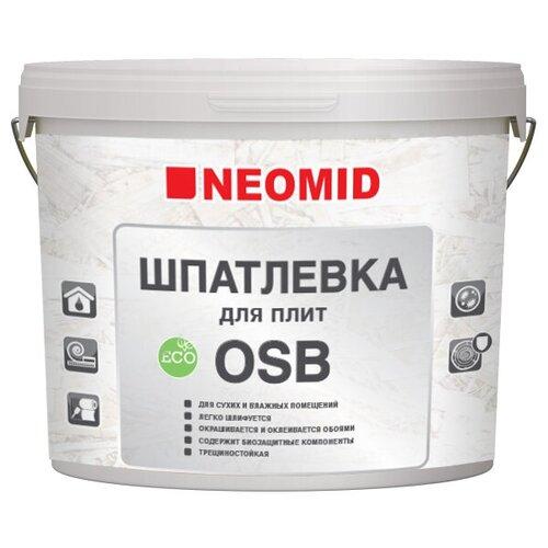 Шпатлевка для плит OSB NEOMID - 7 кг