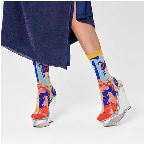 Женские носки Hysteria Jasmine Ankle Sock - Red/Yellow 36-38