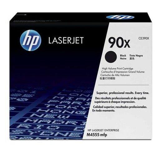 Фото - Картридж лазерный HP 90X CE390X чер. пов.емк. для LJ M4555/M602/M603 картридж hp ce390a 90a для lj m4555mfp m601 m602 m603 10000стр