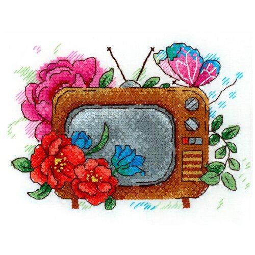 Купить Набор для вышивания М.П.Студия В №02 вышивка на одежде №257 Экран вдохновения 13 х 9 см 1 шт., Жар-птица, Наборы для вышивания