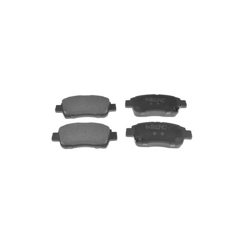 NIBK pn1471 (044650W050 / 044650W080 / 044650W080) колодки тормозные дисковые Toyota (Тойота) vitz 1.0 1999 - 2005 Toyota (Тойота) platz 1.0 1999 - 2005 Toyota (Тойота) platz 1