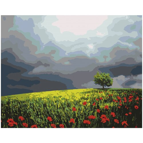 Картина по номерам Артвентура «Маковое поле» (Холст на подрамнике, 40х50 см) картина по номерам flamingo маковое поле 3991234 40 х 50 см