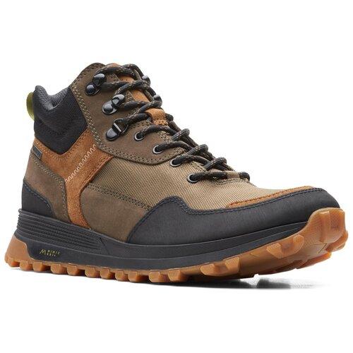 Ботинки хайкеры Clarks , размер 43 , оливковый туфли clarks clarks cl567ambuup3