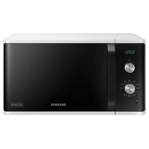 Микроволновая печь Samsung MG23K3614AW/BW, гриль, 800Вт, 23л, белый