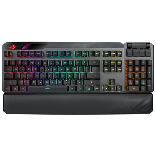 Игровая клавиатура ASUS ROG Claymore II ROG RX RED черный