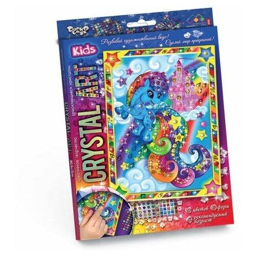 Набор креативного творчества Crystal Art. Пони