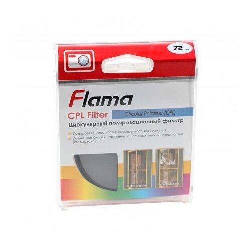 Светофильтр FLAMA CPL Filter 72 mm