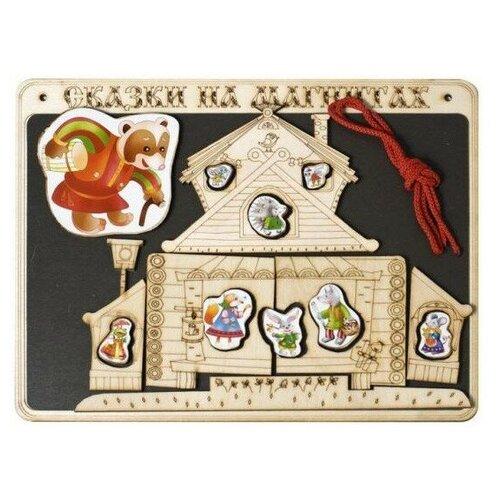 Купить Сказки на магнитах Нескучные игры Теремок (К-0543/8), Кукольный театр