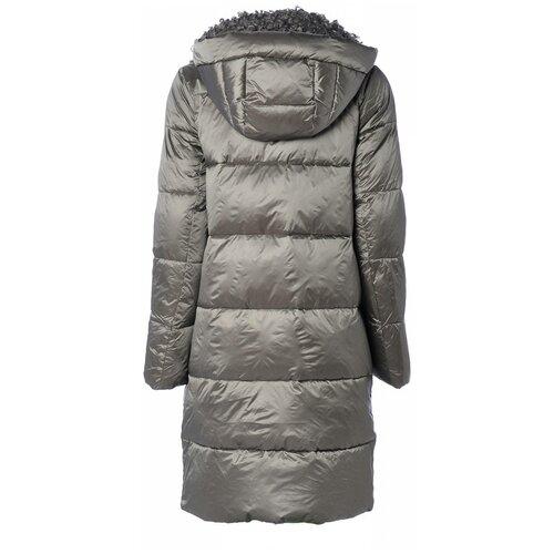 Зимняя куртка женская EVACANA 21705 (Серый/48)