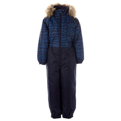 Купить Комбинезон Huppa Willy 31900030 (12509 / 12586) размер 128, 12586, тёмно-синий с принтом/тёмно-синий, Комбинезоны