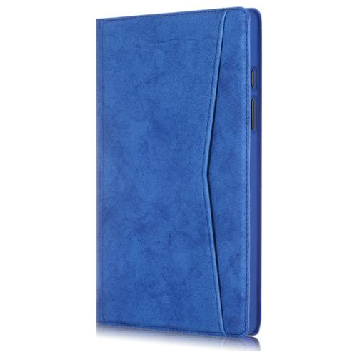 Чехол-книжка MyPads из качественной импортной эко кожи для Samsung Galaxy Tab A7 10.4 SM-T500 (2020)/ Samsung Galaxy Tab A7 10.4 SM-T500 / T505 (2020) синий чехол для samsung galaxy tab a7 2020 чехол для планшета из искусственной кожи для samsung galaxy tab a7 sm t500 t505 t507 10 4 дюймов