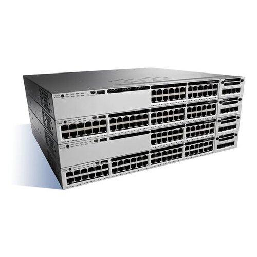 Коммутатор Cisco Catalyst WS-C3850-24S-E маршрутизатор cisco catalyst 3560 cx 12 port data ip base cisco cid ws c3560cx 12tc s