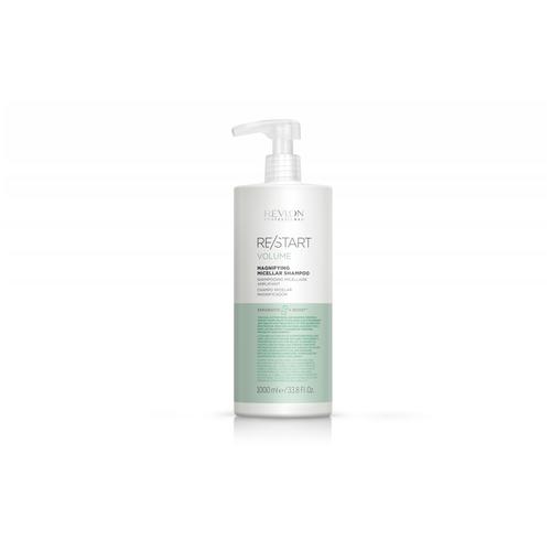 Фото - RP RESTART VOLUME MAGNIFYING MICELLAR SHAMPOO Шампунь мицеллярный для тонких волос, 1000 мл wella nutricurls micellar shampoo for curls мицеллярный шампунь для кудрявых волос 1000 мл