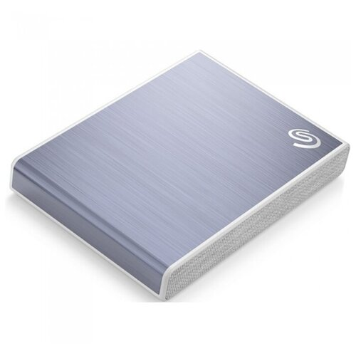 Фото - Внешний SSD 2 Tb Seagate One Touch Blue (STKG2000402) портативный ssd seagate one touch 1tb 2 5 usb 3 0 бел stje1000402